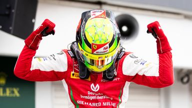 Schumacher claims maiden F2 win