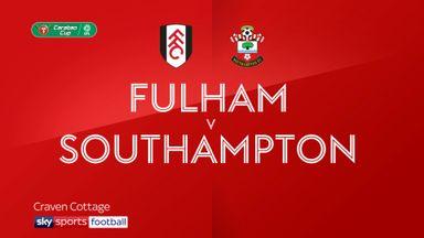 Fulham 0-1 Southampton