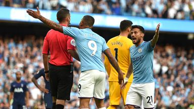 VAR drama as Spurs snatch point at City