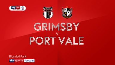 Grimsby 5-2 Port Vale