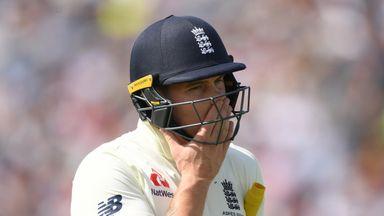 Why are England's batsmen struggling?