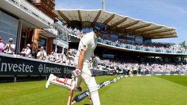 Root: How it feels to walk out at Lord's