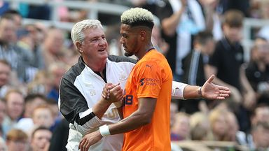 Joelinton 'growing' as Newcastle No. 9