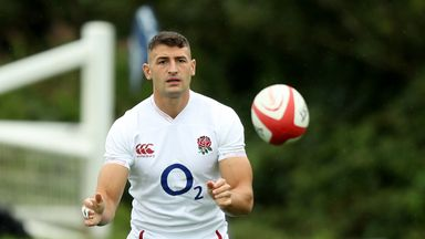 May misses England training