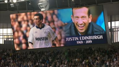Edinburgh tribute at Spurs