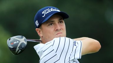 Thomas fires Medinah record