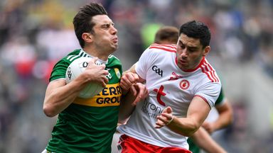 Kerry 1-18 Tyrone 0-18