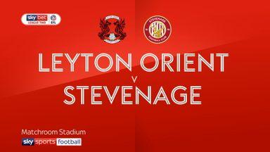 Leyton Orient 0-0 Stevenage