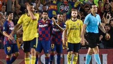 Barcelona 2-1 Arsenal