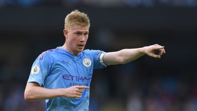 MNF: De Bruyne compared to Beckham, Gerrard