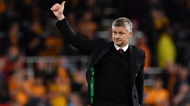 Ole pleased with 'improving' United