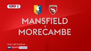 Mansfield 2-2 Morecambe