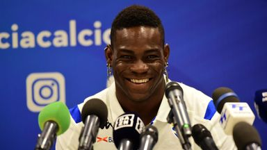 Balotelli: My mum cried at Brescia return