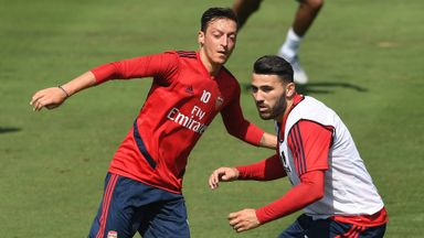 Emery: Ozil, Kolasinac ready to play