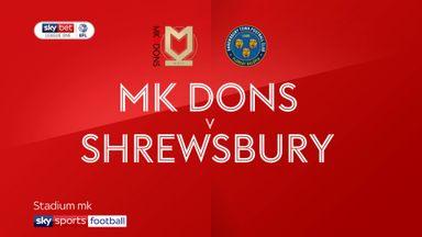 MK Dons 1-0 Shrewsbury
