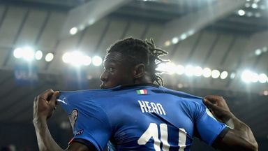 Kean's first Italy goal