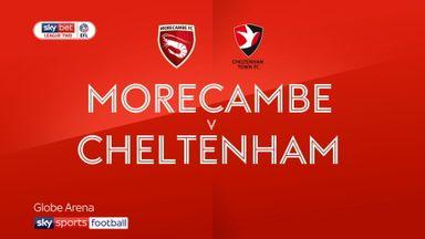 Morecambe 0-0 Cheltenham
