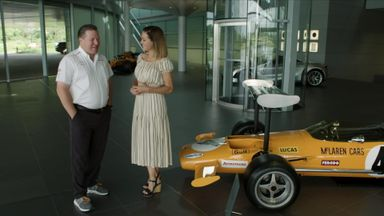 McLaren's technology centre tour