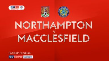 Northampton 1-2 Macclesfield