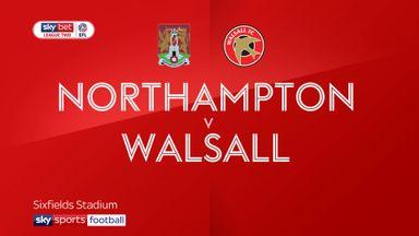 Northampton 0-1 Walsall