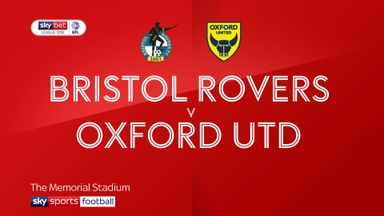 Bristol Rovers 3-1 Oxford United