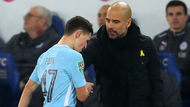 Pep 'managing Foden perfectly'