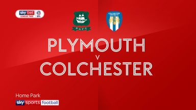 Plymouth 1-0 Colchester