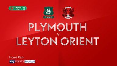 Plymouth 2-0 Leyton Orient