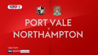 Port Vale 1-1 Northampton