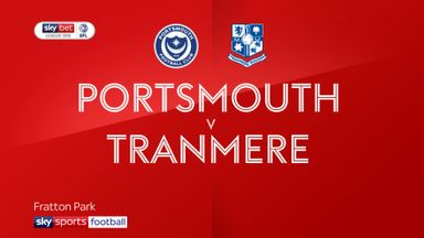 Portsmouth 2-0 Tranmere