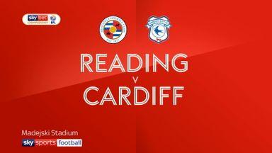 Reading 3-0 Cardiff