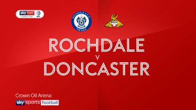 Rochdale 1-1 Doncaster