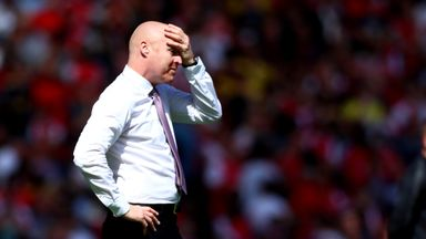 Dyche: I don't know my transfer budget
