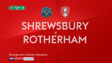 Shrewsbury 0-4 Rotherham