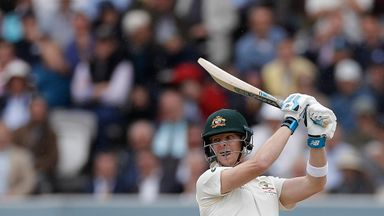 Was Smith too fidgety at the crease?