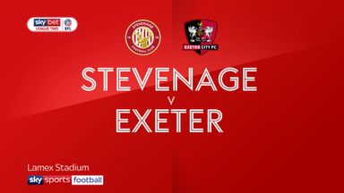 Stevenage 0-1 Exeter