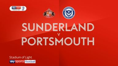 Sunderland 2-1 Portsmouth