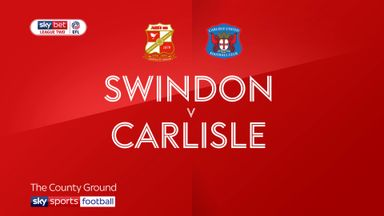 Swindon 3-2 Carlisle