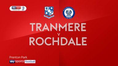Tranmere 2-3 Rochdale