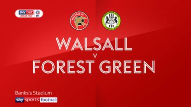 Walsall 1-1 Forest Green