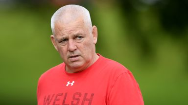 Gatland: 'Wales resilient after Howley shock'