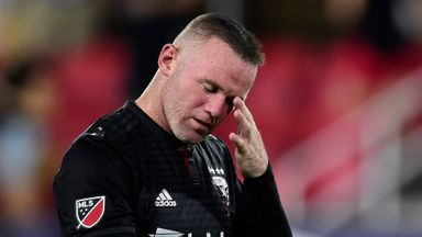 Rooney sent off in DC United defeat