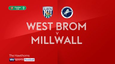 West Brom 1-2 Millwall