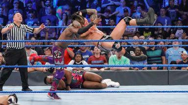 Orton hits four RKO's in a row