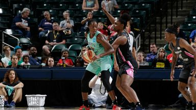 WNBA: Liberty 82-76 Fever