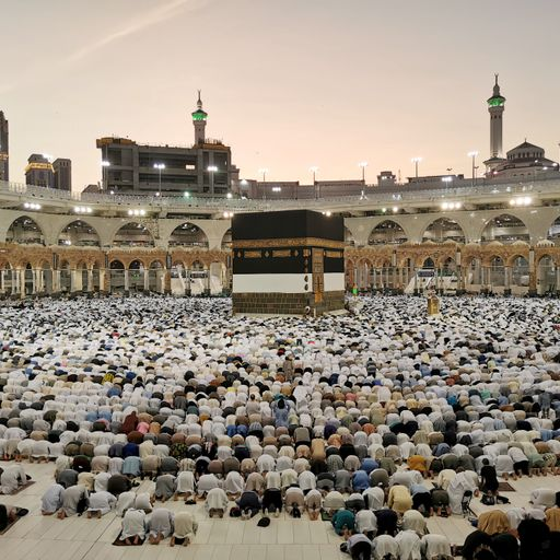The heavens open at the Hajj, drenching almost four million pilgrims