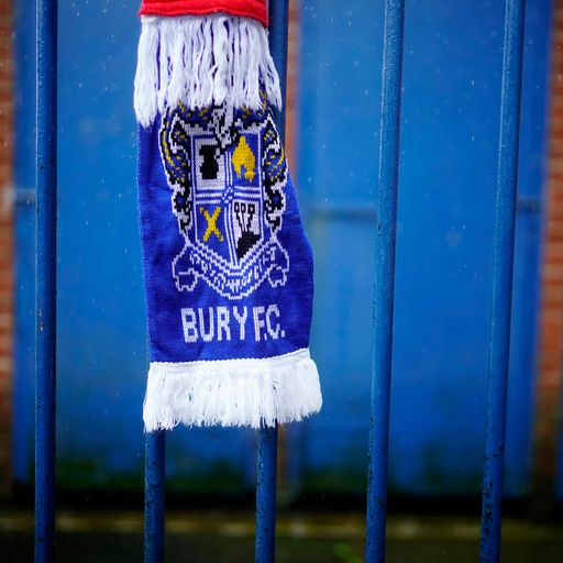 Bury expelled from Football League after takeover bid collapses
