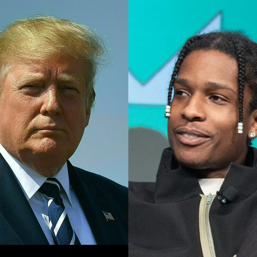 Who is A$AP Rocky and why was Trump involved?