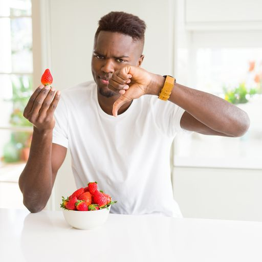 Why young men are not eating enough fruit and veg