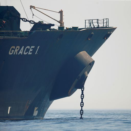 Grace 1 tanker: UK condemns Iran over Adrian Darya 1 delivery of oil to Syria